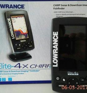 Эхолот Lowrance Elite-4x CHIRP