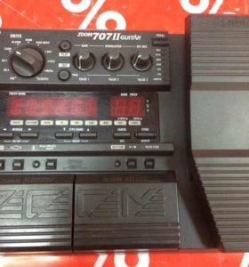 Процессор гитарных эффектов Zoom 707 II