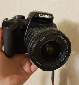 Фотоаппарат зеркальный canon 1000d
