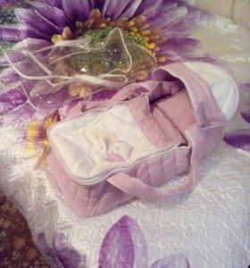 Сумка переноска для малышей