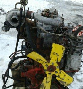 Двигатель 245 турбо,с коропкой можно раздельно