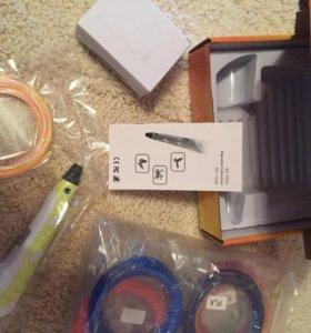 3Д ручка и запасной пластик