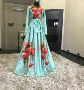 Шикарные платья из шёлка
