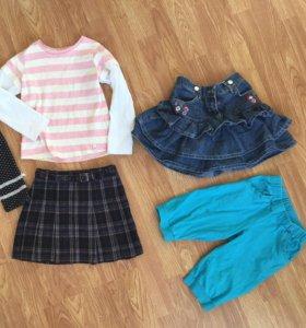 Набор одежды (юбки,брюки,кофточка)