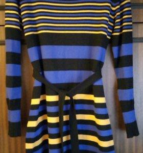 Платье трикотажное р. 44