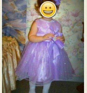 Нарядное платье 86-92