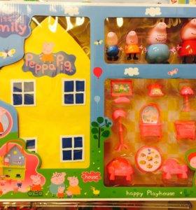 Большой дом Свинки Пеппы
