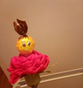 Подарок оригинальный цветок