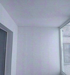 Пластиковый балкон(пвх)