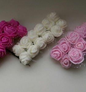 Цветы для скрапбукинга, творчества, рукоделия