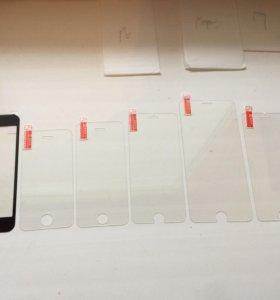 стекло защитное apple iphone айфон, 4,5,6,7, 6+, s