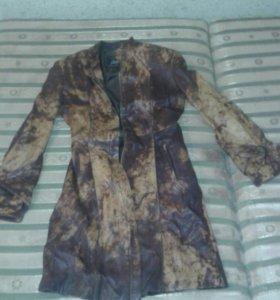 Кожаные пальто и куртка,дубленка