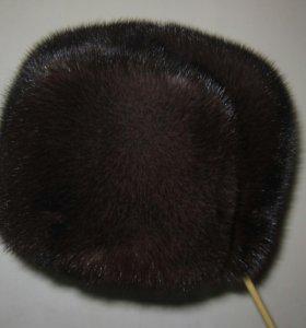 Новая мужская норковая шапка