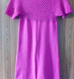 Платье вязаное новое