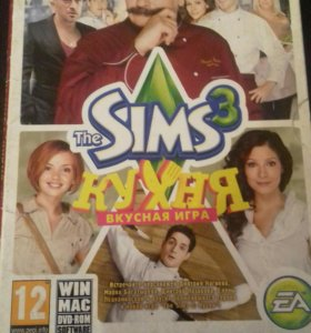 """Игры """" Sims 3"""" с дополнениями."""