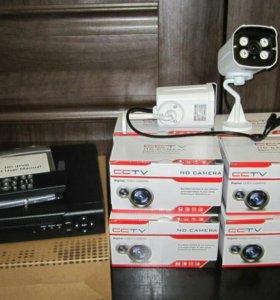 Комплект для видеонаблюдения AHD 1080p