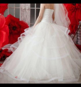 Свадебное платье, подьюбник.
