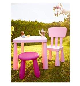 Столик, стулья и табуреты в наличии