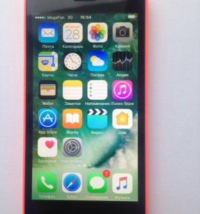 iPhone 5c 32 gb оригинал.