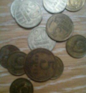 Монеты СССР 1961-91г.цена за все.