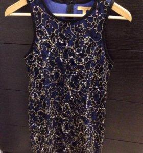 Платье с пайетками Zara