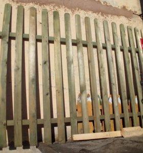 Заборные секции