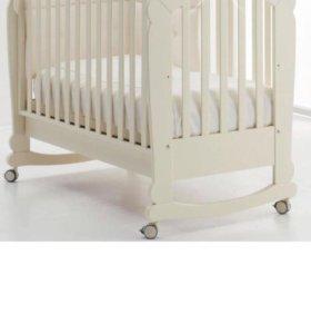 Детская кровать качалка erbesi