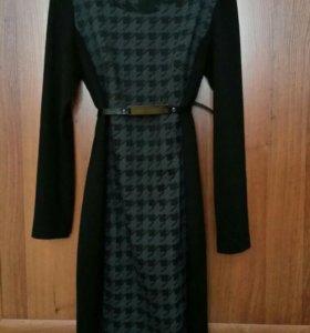 Платье теплое L р-р