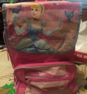 Детский рюкзак с Золушкой