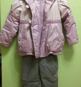 Куртка осень-весна и штаны комбенизон