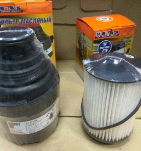 Фильтр маслянный и топливный cummins 2,8