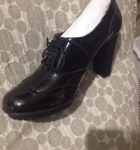 Осенние ботинки новые!