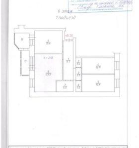 Продам трехкомнатную квартиру на М.Годенко, 3
