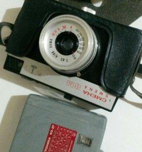 Фотоаппарат смена и вспышка