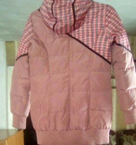 Продам куртку осень-весна,есть ещё ремень