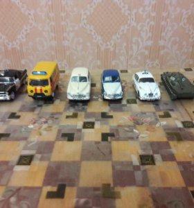 Продаю коллекцию машинок