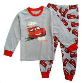 Новый домашний костюм пижама на мальчика тачки