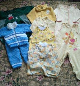 Пакет вещей на ребенка 6 месяцев