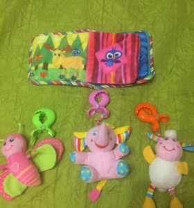 Развивающие игрушки.фирма Lamaze и Tiny love.