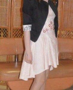 Платье Love Republik и туфли Кари