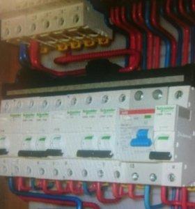 Электрик, сантехник, отопление, заборы, навесы