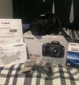 Фотоаппарат Canon 550 d