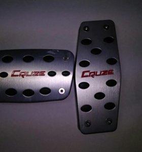 Накладки на педали автомат Chevrolet Cruze