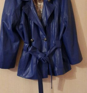 Куртка кожаная р 50-52