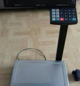 весы с подключением к п.к