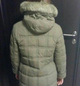 Пальто зимнее на девочку 146-152