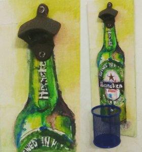 Открывашки настенные для бутылочки