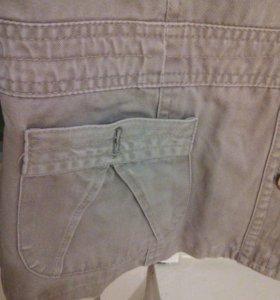 Пиджак джинсовый, 42 размер.