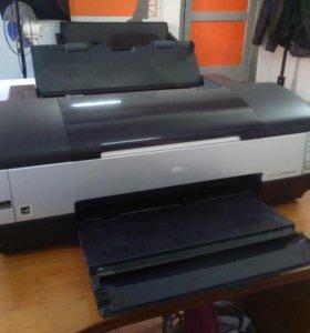 Принтер А3 цветной epson 1410