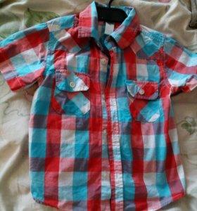 Рубашка на мальчика 3-6 лет